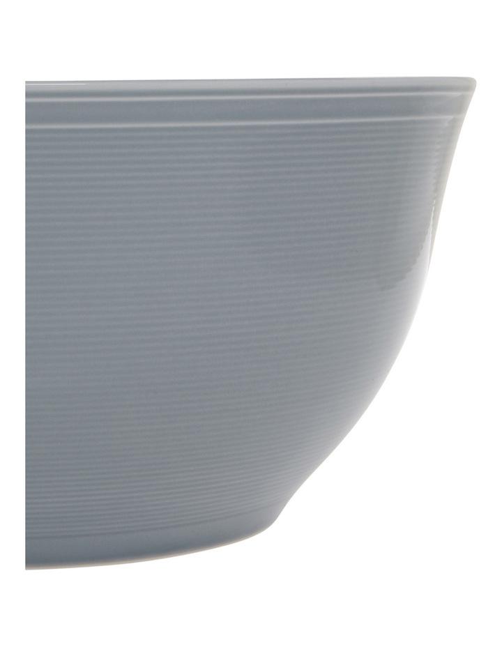 Rhythm Porcelain Serve Bowl - Blue image 2