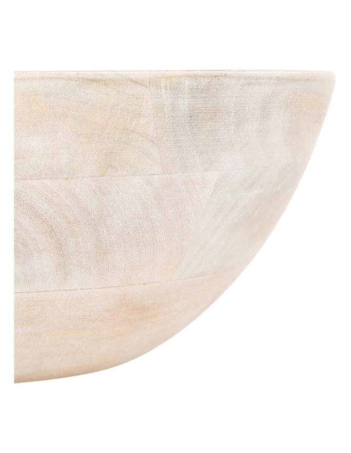 Peninsula Whitewash Mango Wood Bowl image 2