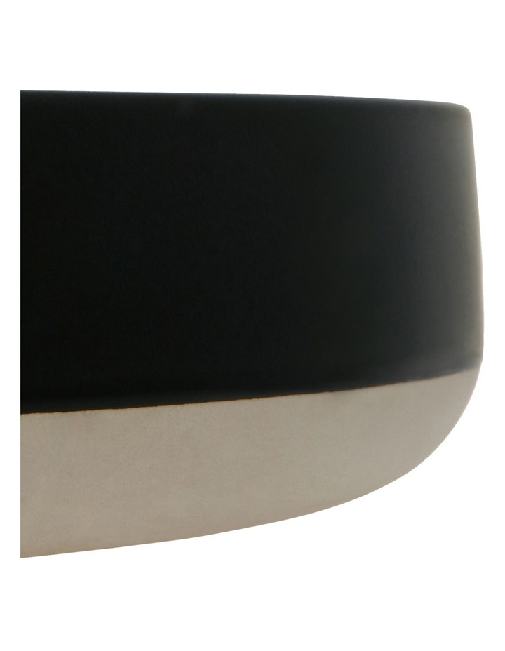Boyd Shallow Serve Bowl  30cm - Matte Black image 2
