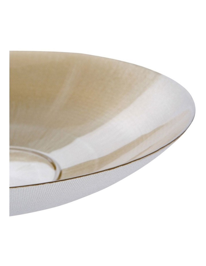Elite 39cm Shallow Bowl Metallic Champagne image 2