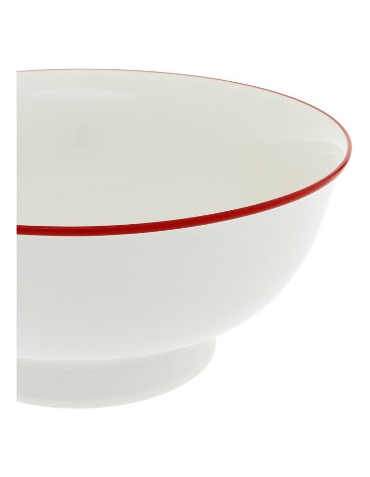 Garnet Rim 27cm Large Serving Bowl image 2