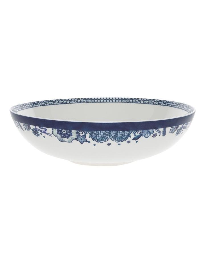 Blue Flower Serving Bowl 32cm image 1