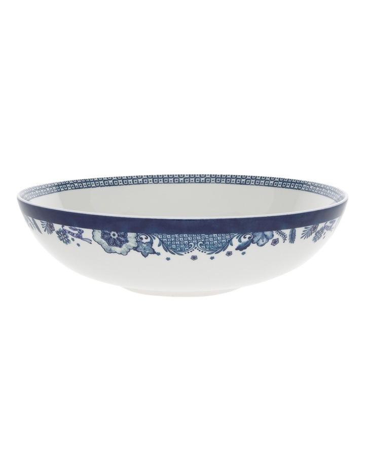 Blue Flower Serving Bowl 32cm image 1