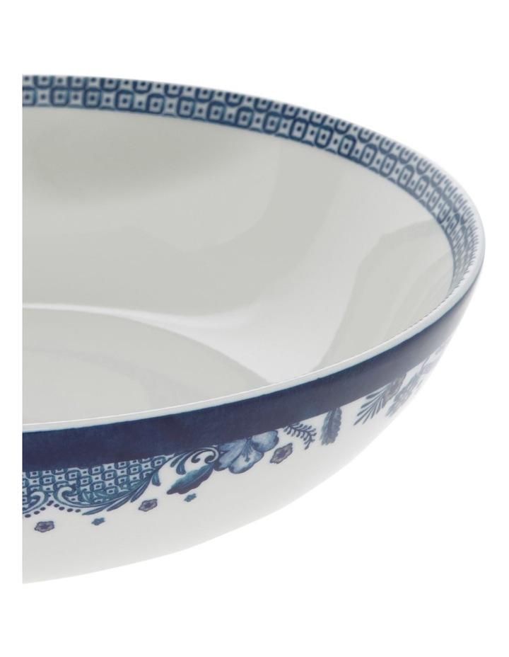 Blue Flower Serving Bowl 32cm image 2
