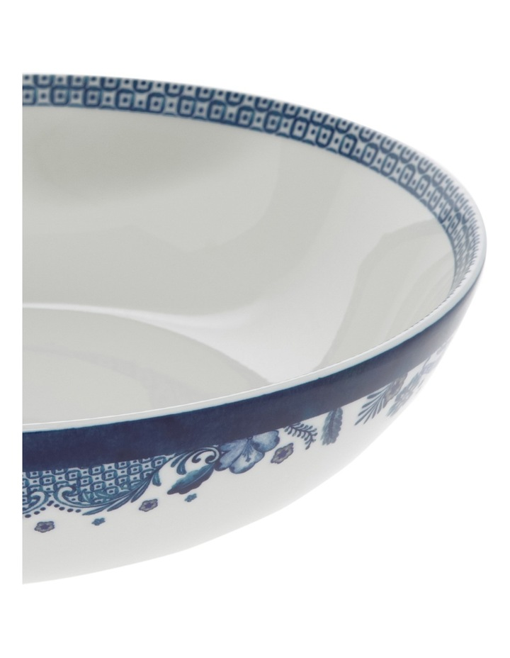 Blue Flower Serving Bowl 32cm image 2