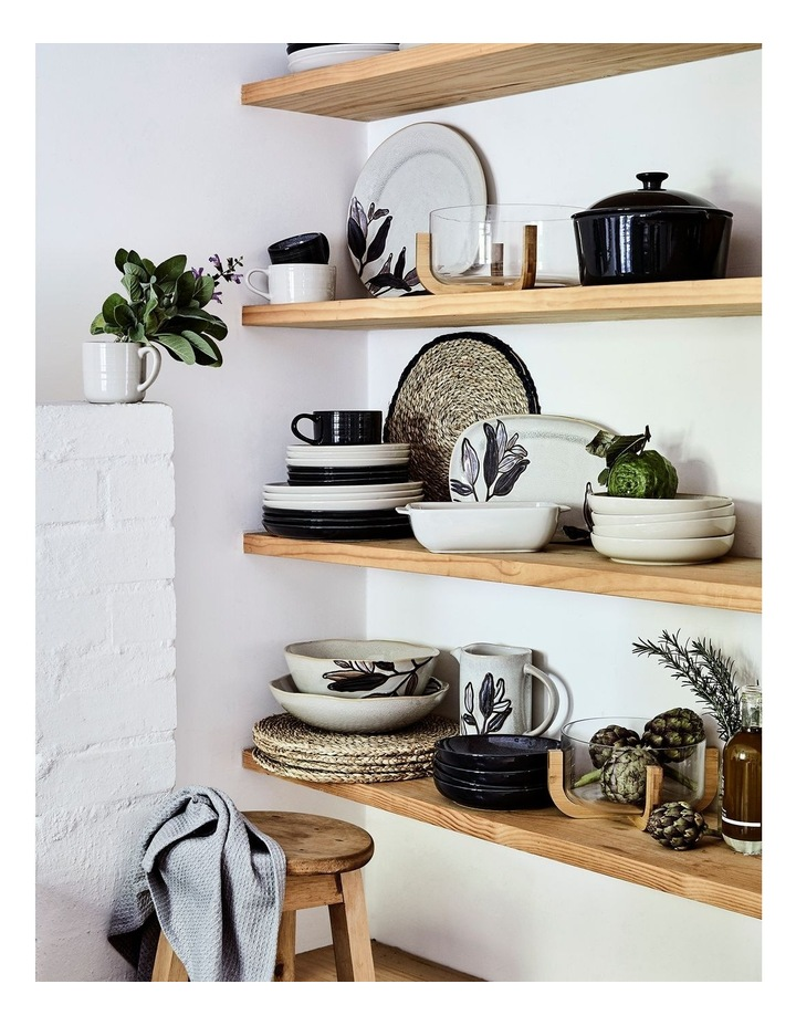 Eucalyptus Organic Serving Bowl image 4