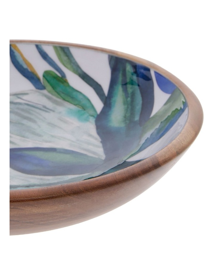 Botanical Acacia Wood Salad Bowl image 2