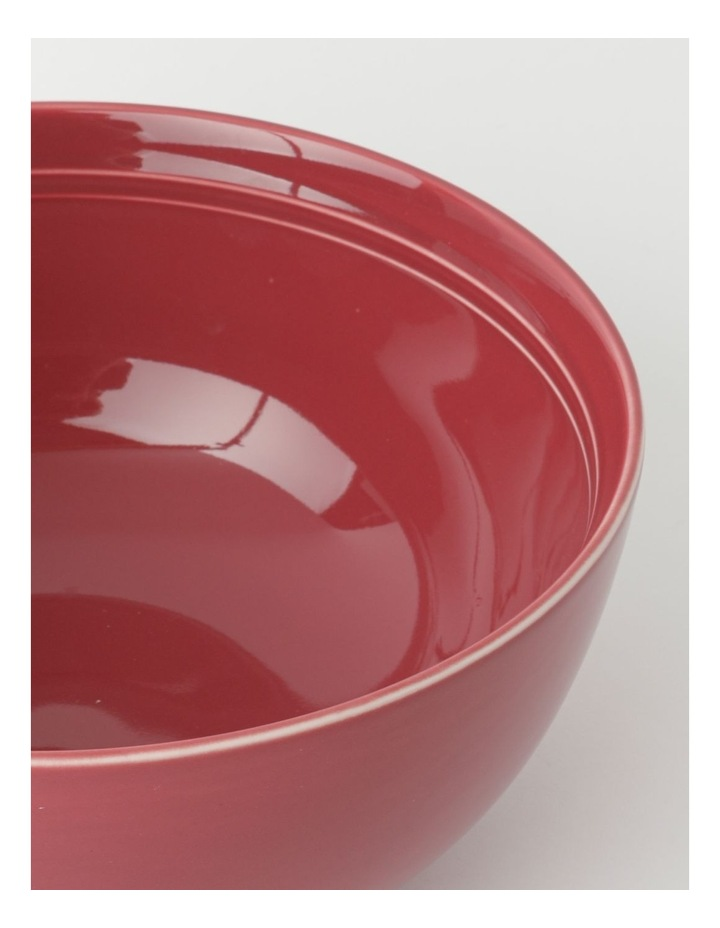 Avenue Deep Serving Bowl in Crimson image 2