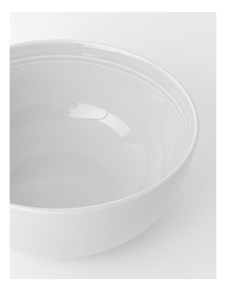 Avenue Deep Serving Bowl in White image 3