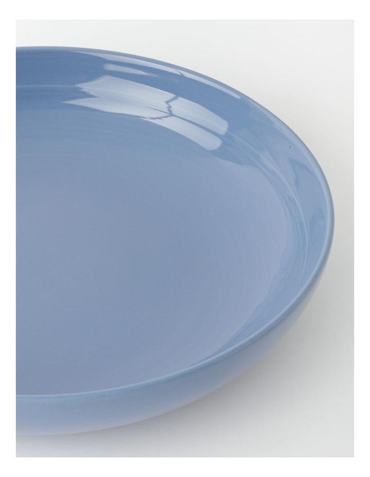 Avenue Shallow Serving Bowl in Dusk Blue image 2