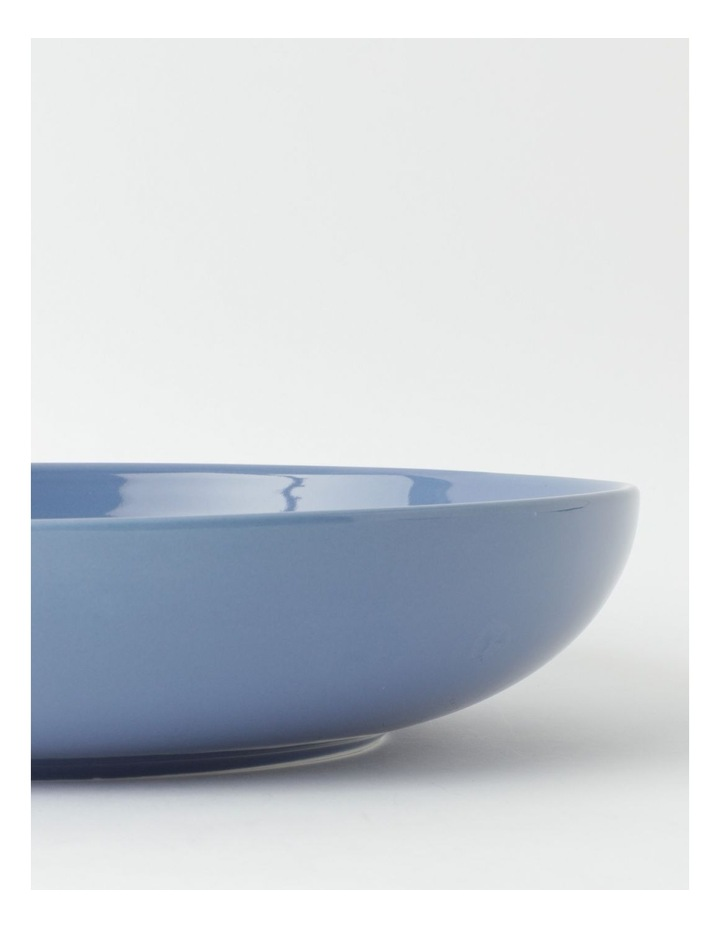 Avenue Shallow Serving Bowl in Dusk Blue image 3