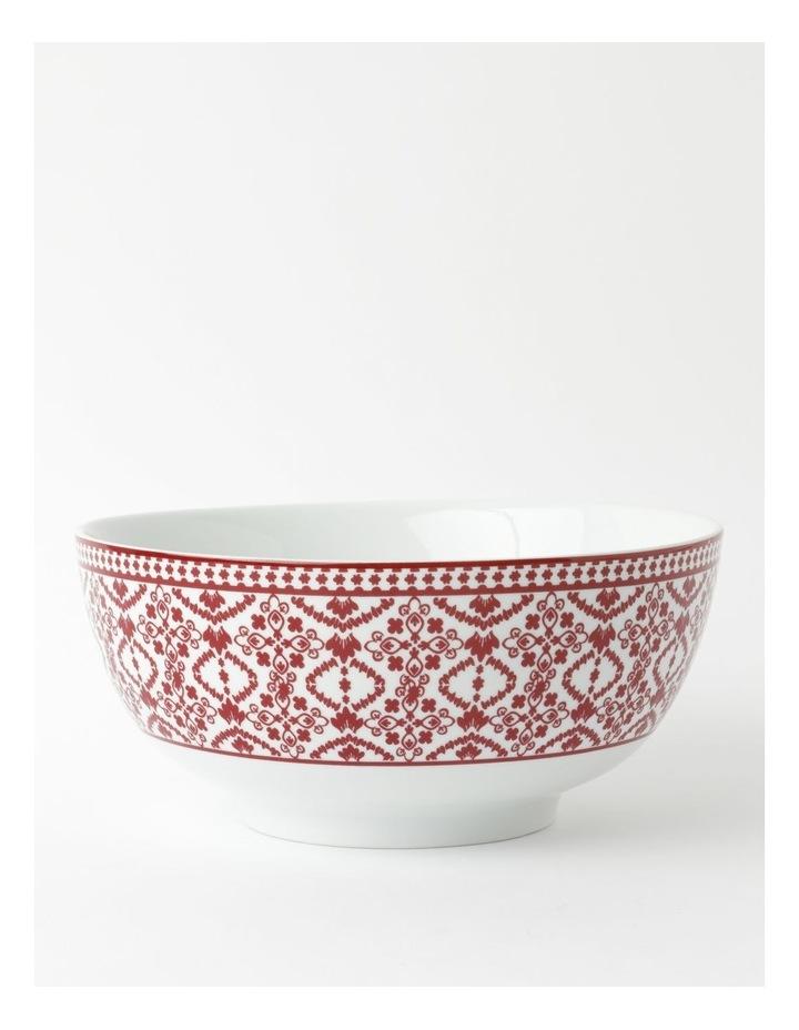 Deruta Red Tile Deep Serving Bowl image 1