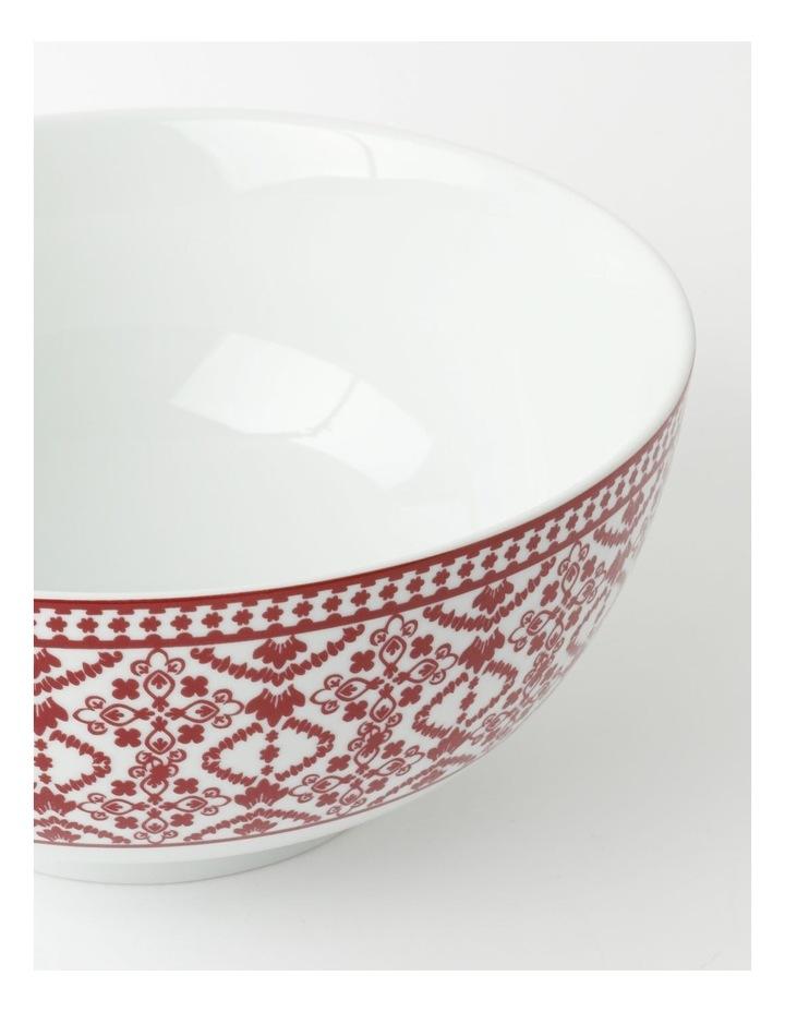 Deruta Red Tile Deep Serving Bowl image 2