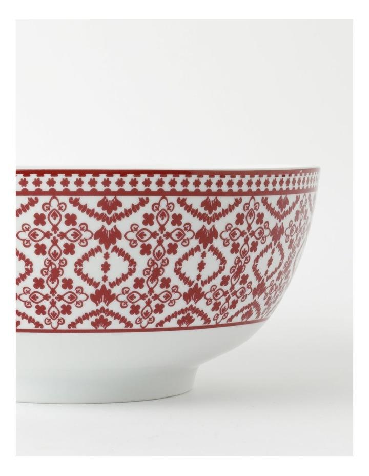 Deruta Red Tile Deep Serving Bowl image 3