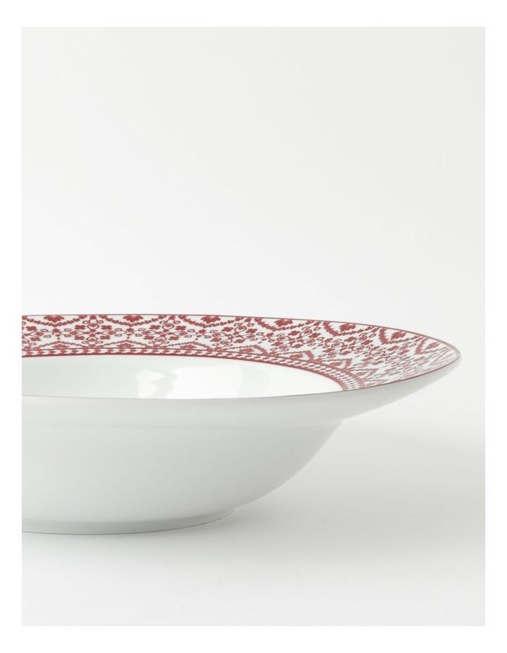 Deruta Red Tile Rim Serving Bowl image 4