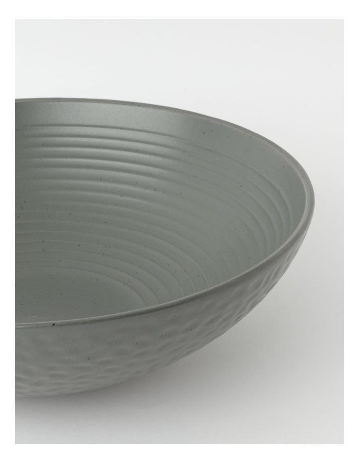Desert Bloom Serving Bowl in Dark Green image 2