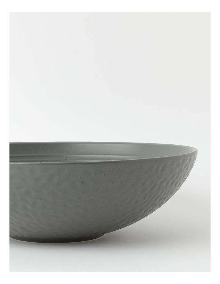 Desert Bloom Serving Bowl in Dark Green image 3