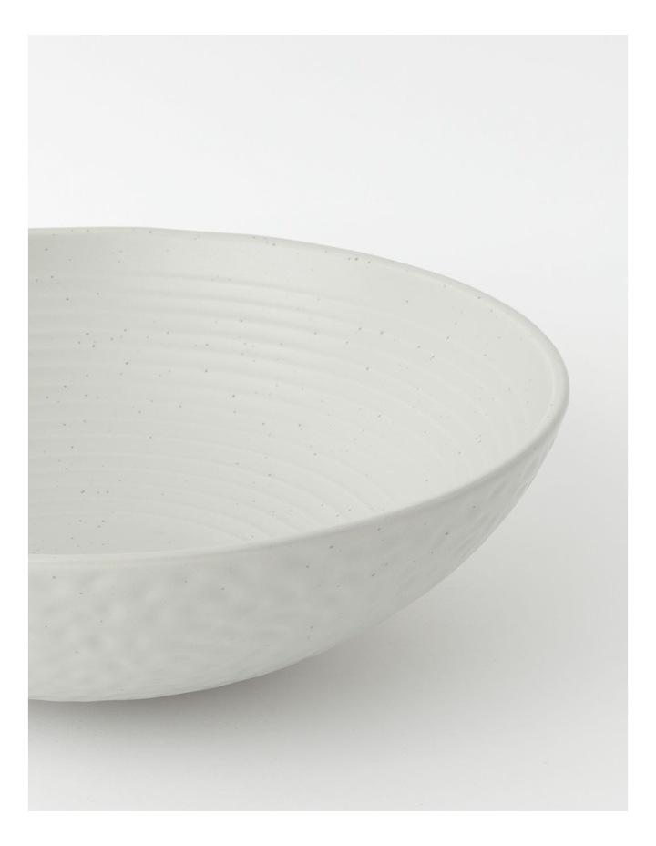 Desert Bloom Serving Bowl in Grey image 2