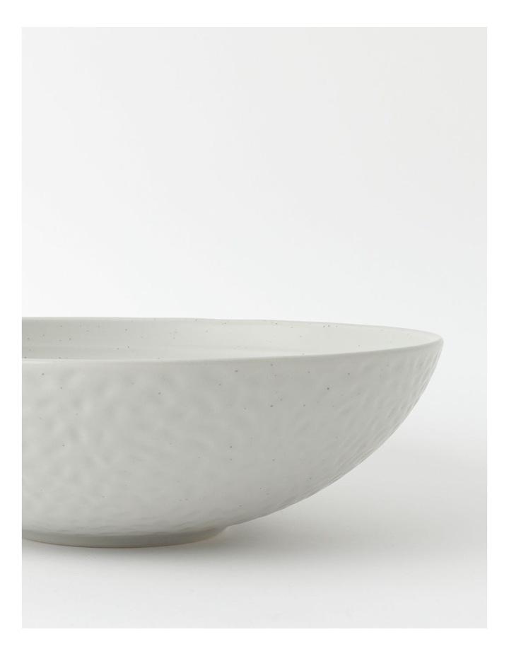 Desert Bloom Serving Bowl in Grey image 3