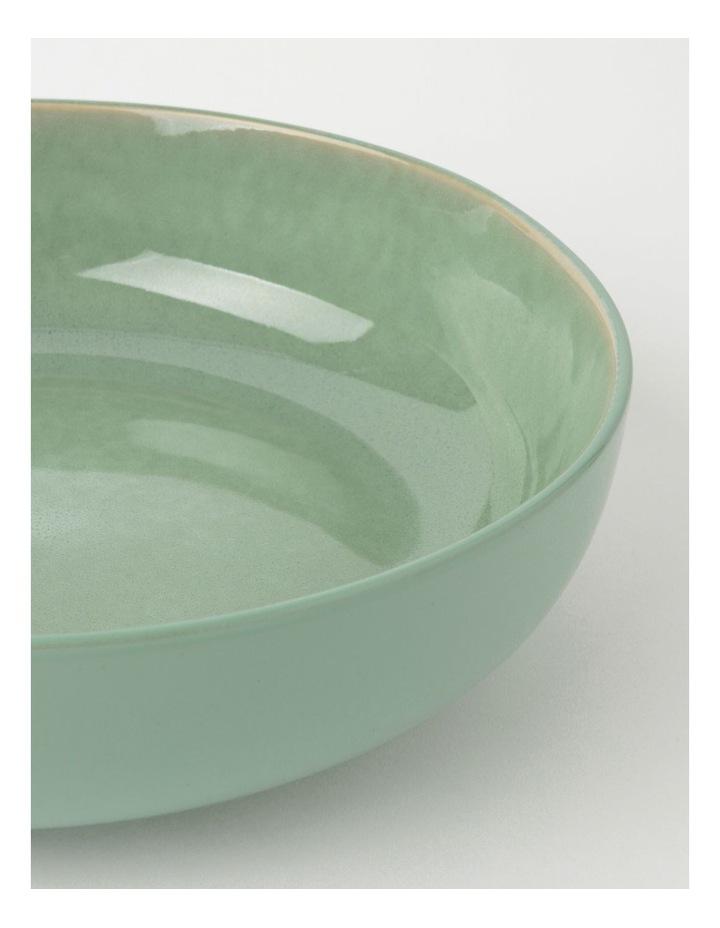 Esperance Shallow Bowl 30cm Eucalyptus Reactive image 2