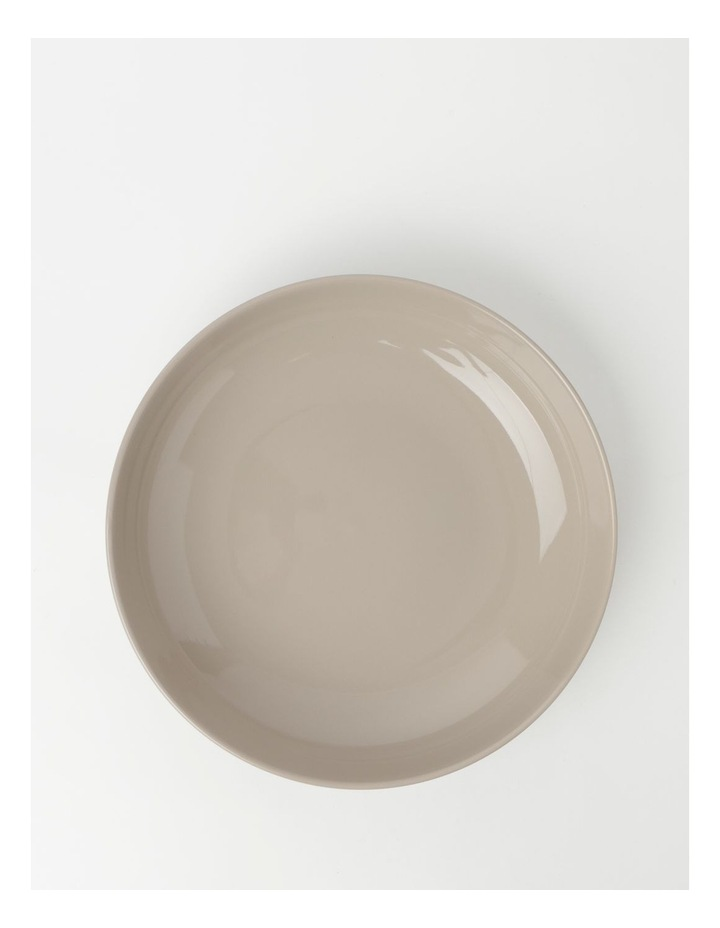 Avenue Shallow Serving Bowl Taupe image 2
