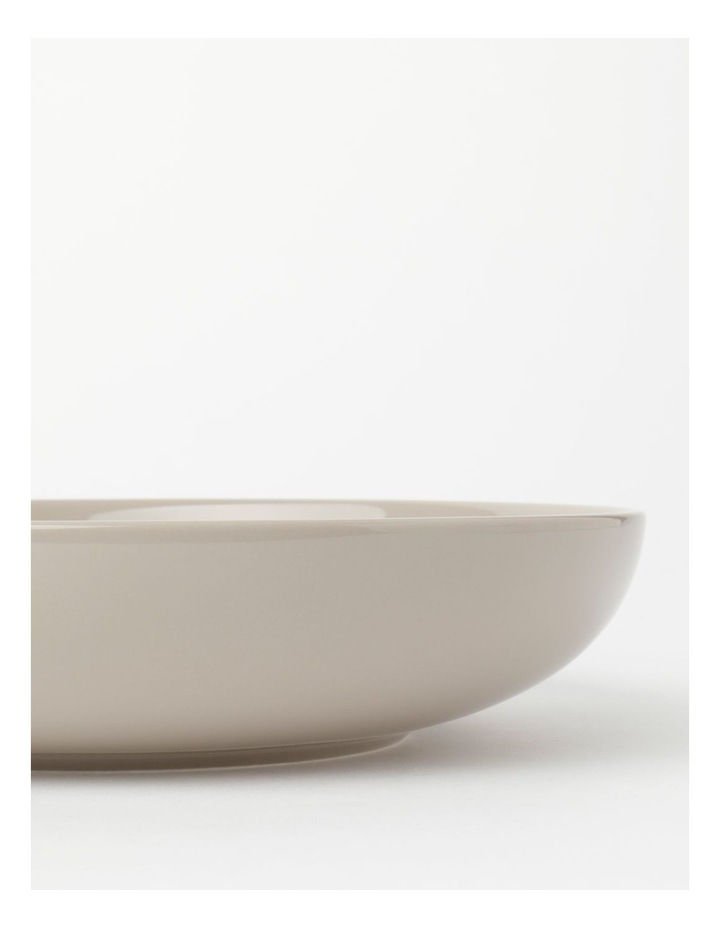 Avenue Shallow Serving Bowl Taupe image 3
