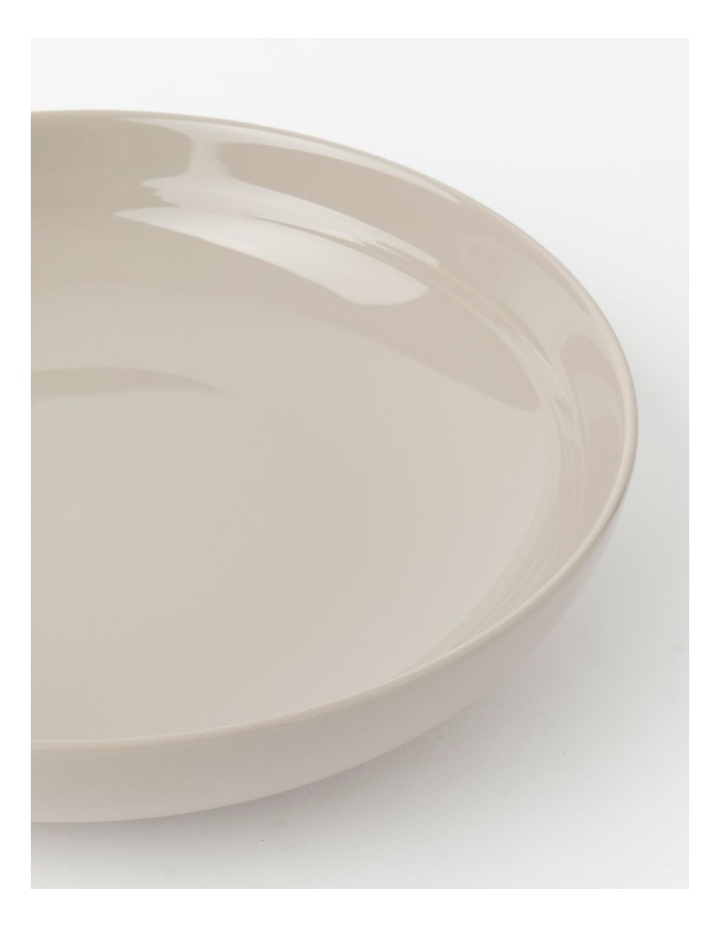 Avenue Shallow Serving Bowl Taupe image 4