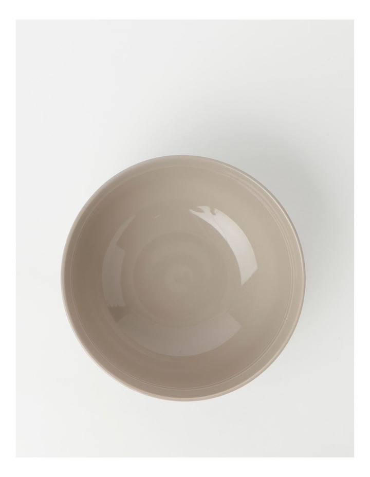 Avenue Deep Serving Bowl Taupe image 2