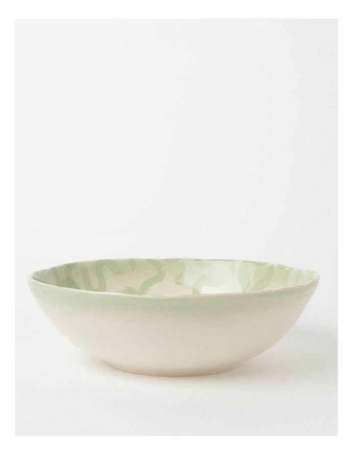 Swirl Serving Bowl Green image 1