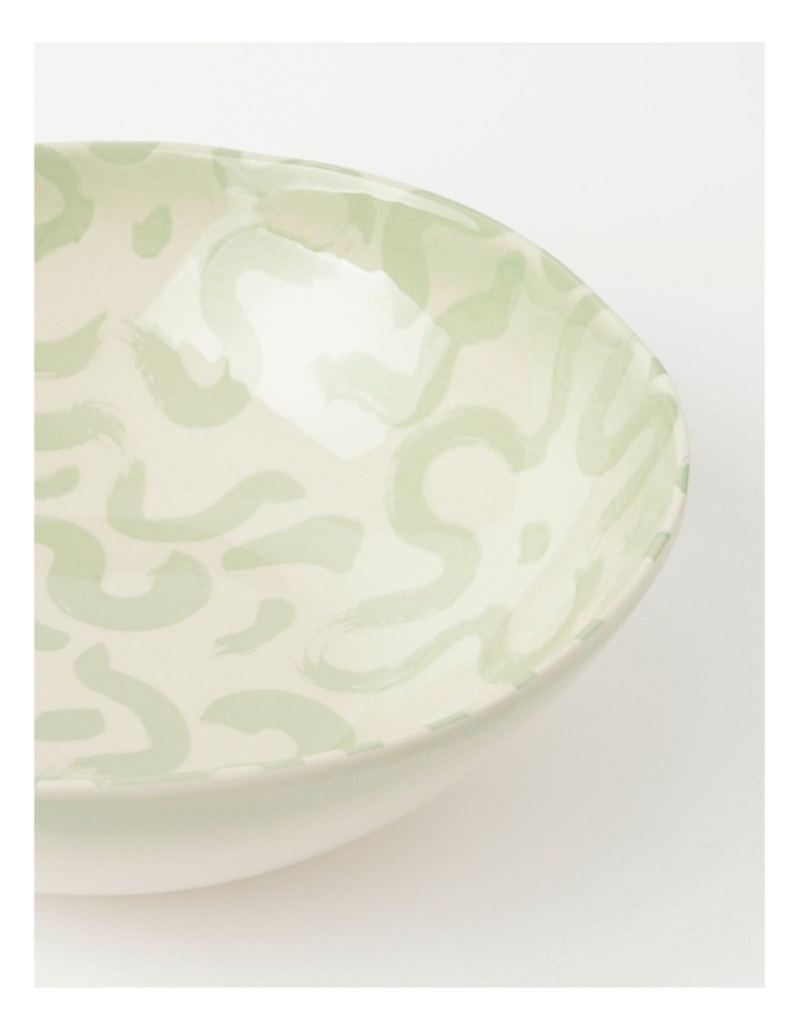 Swirl Serving Bowl Green image 4