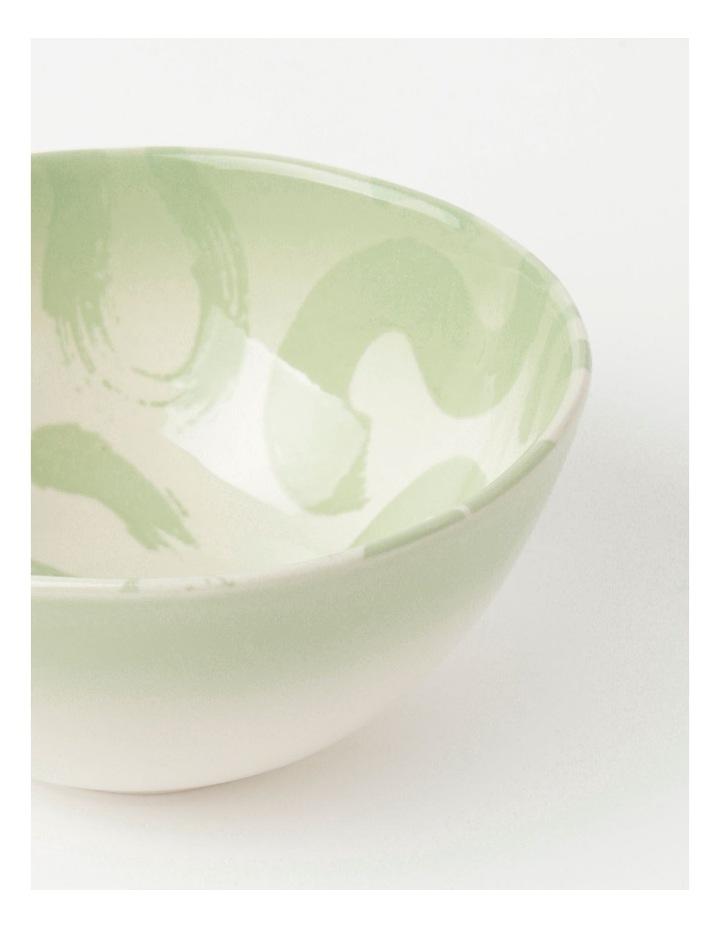 Swirl Dip Bowl Green image 4