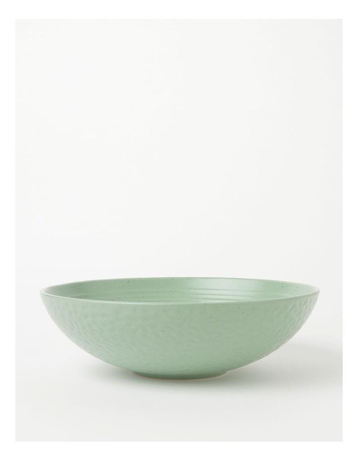 Desert Bloom Serving Bowl Sage image 1