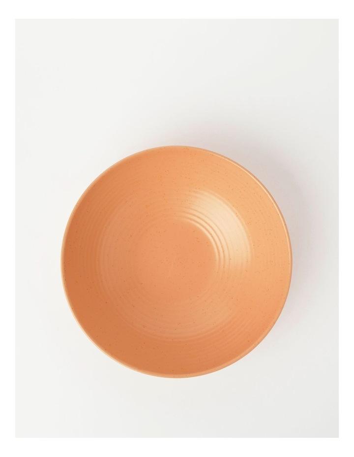 Desert Bloom Serving Bowl Peach image 2