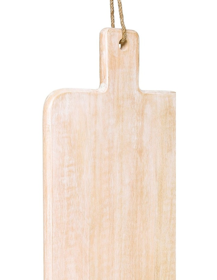 Peninsula Whitewash Mango Wood Paddle Board image 3