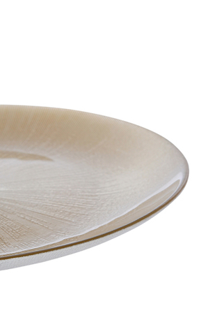 Vue - Elite 32cm Platter Metallic Champagne