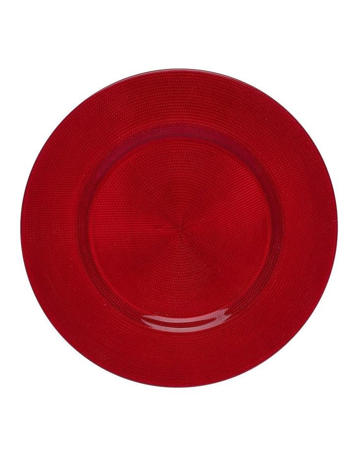 Shining Red Platter image 1