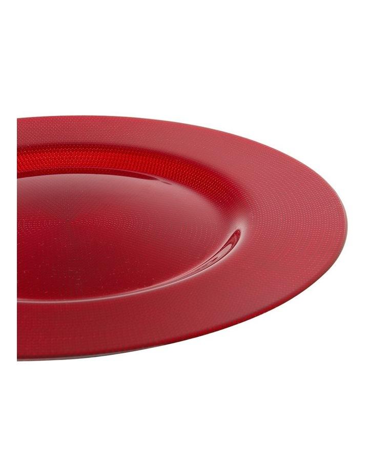 Shining Red Platter image 2