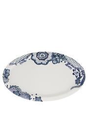 Heritage - Blue Flower Oval Plate 35.5cm