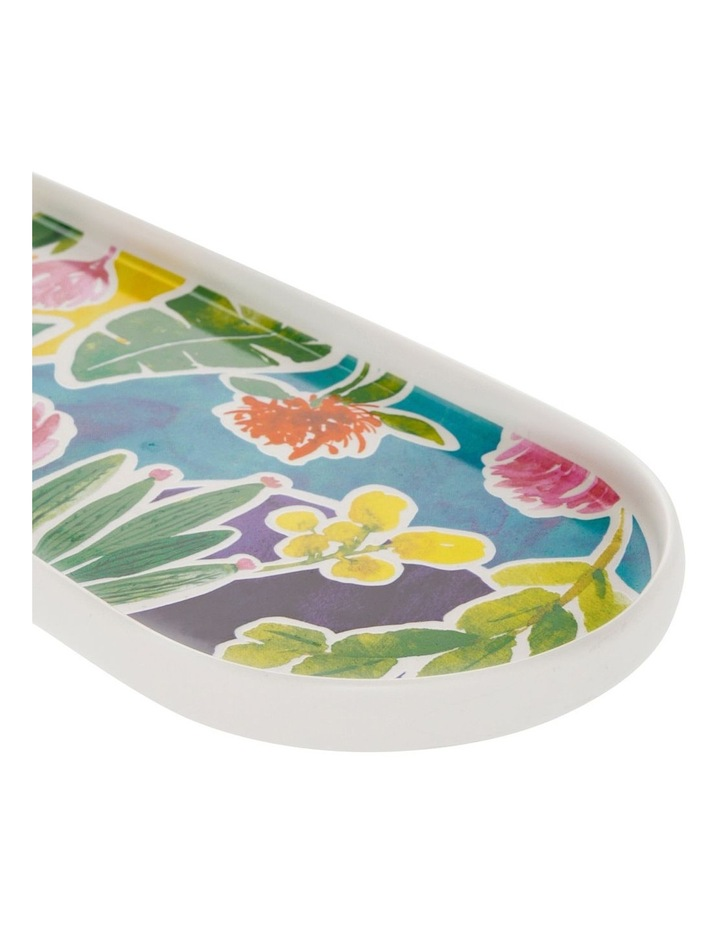 Western Oblong Serving Platter with Decal image 2