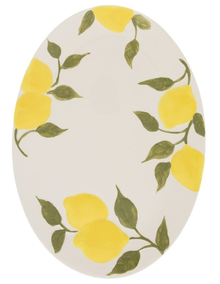 Limone Oval Serving Platter image 1