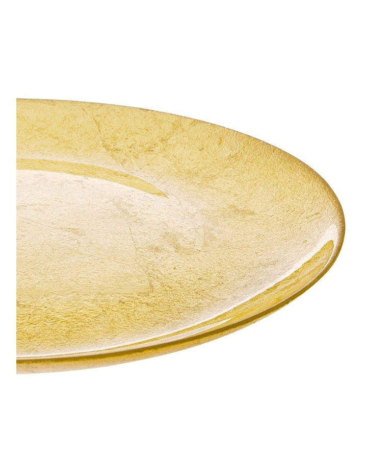 Sleigh Charger Plate Gold image 2