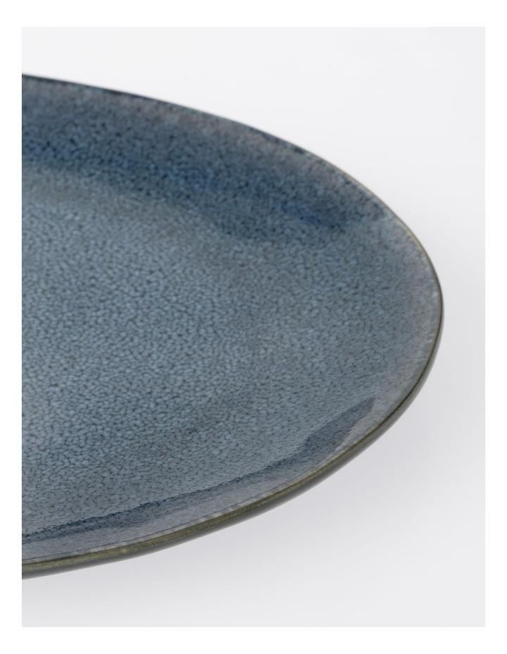 Australian House & Garden Esperance Oval Platter Blue image 2