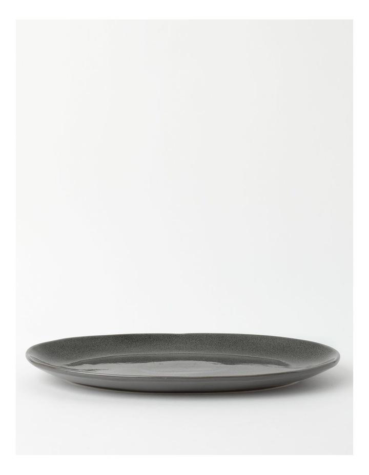 Esperance 34.5x24.5cm Oval Platter in Charcoal image 1