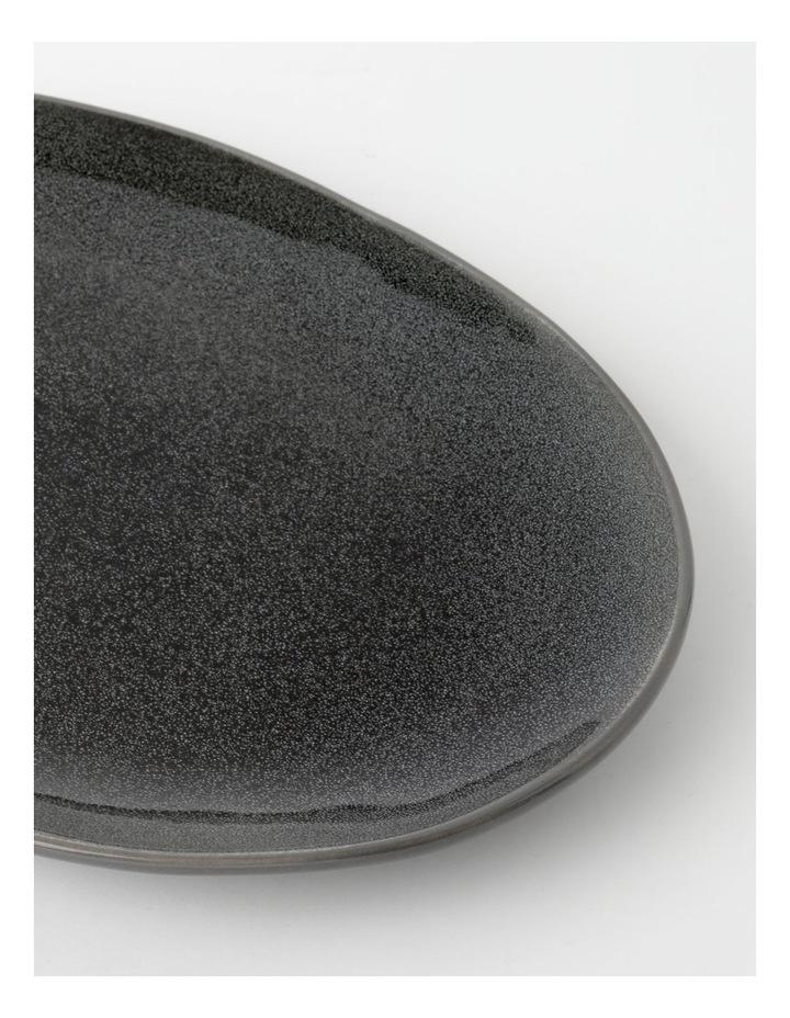 Esperance 34.5x24.5cm Oval Platter in Charcoal image 2