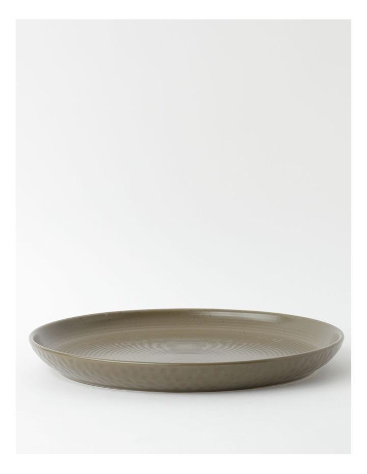 Desert Bloom Round Platter in Orange image 1