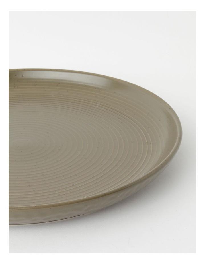 Desert Bloom Round Platter in Orange image 2