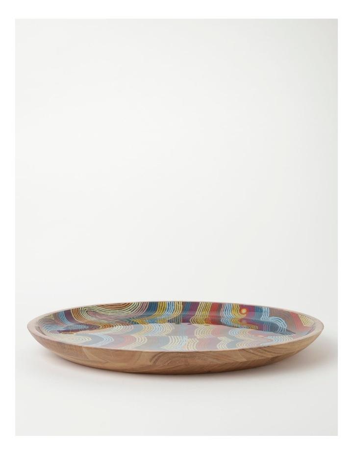 Selina Napanangka Fisher Vaughan Springs Dreaming Shallow Platter image 1