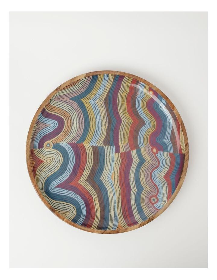 Selina Napanangka Fisher Vaughan Springs Dreaming Shallow Platter image 2