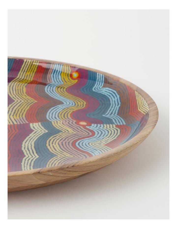 Selina Napanangka Fisher Vaughan Springs Dreaming Shallow Platter image 3