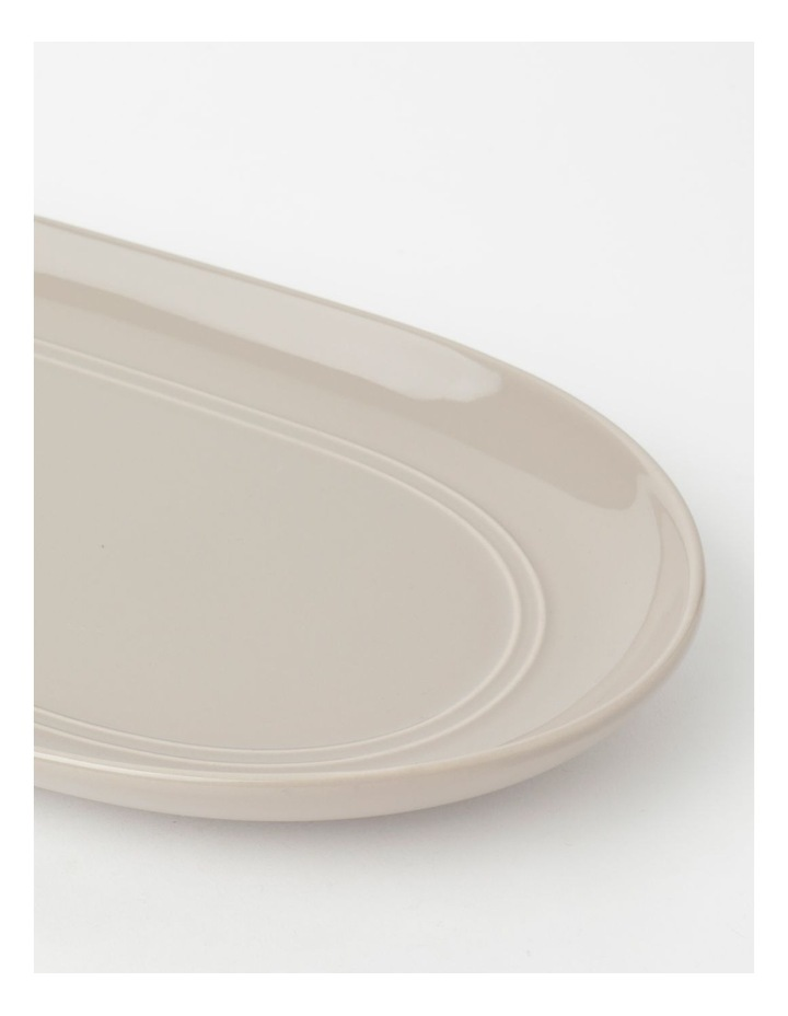 Avenue Oval Platter Taupe image 2